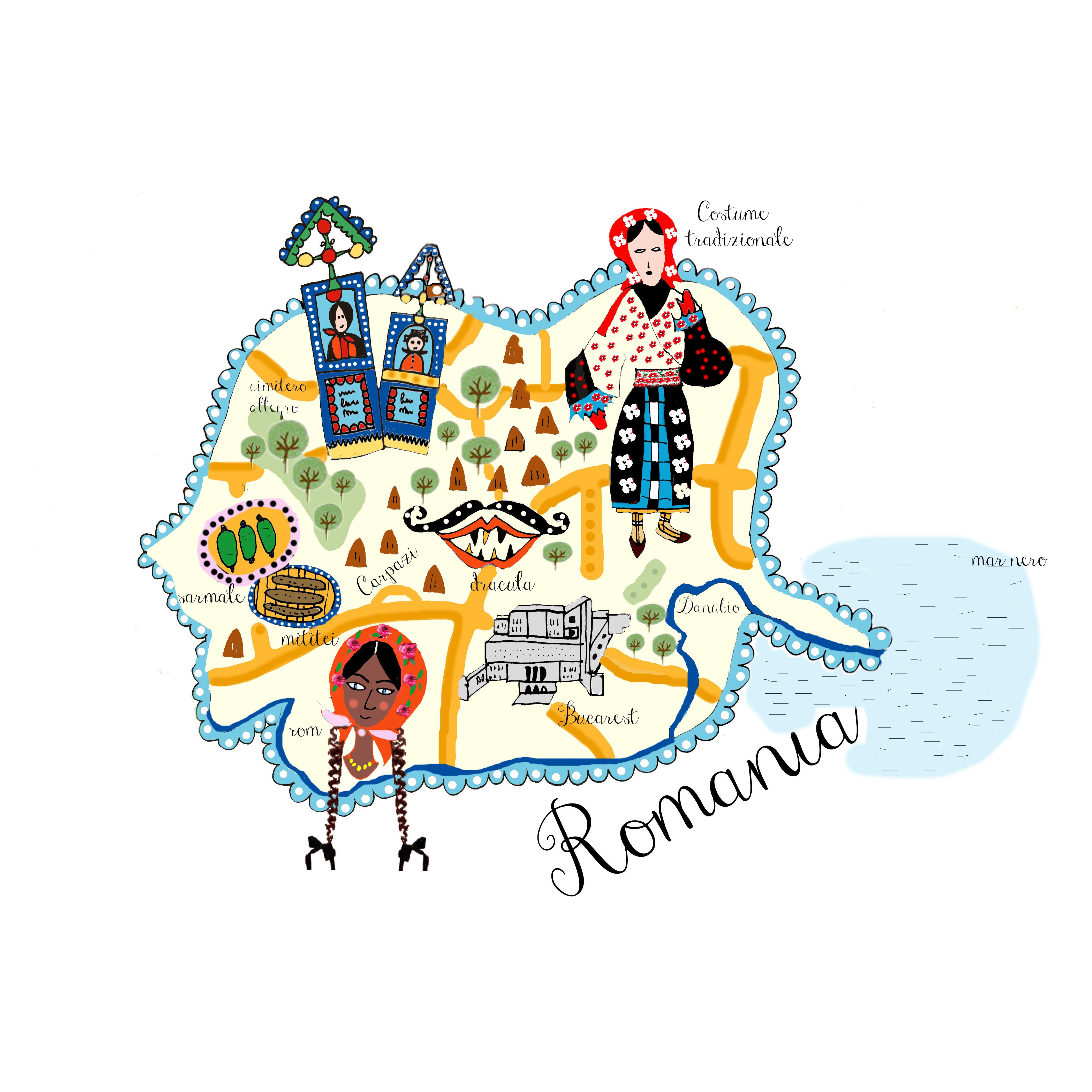 mappa-romania