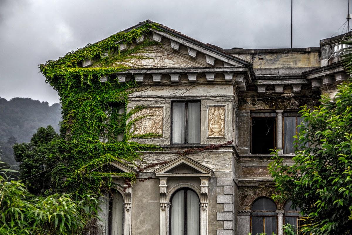Ville abbandonate il fascino indiscreto della decadenza for Disegni di case abbandonate