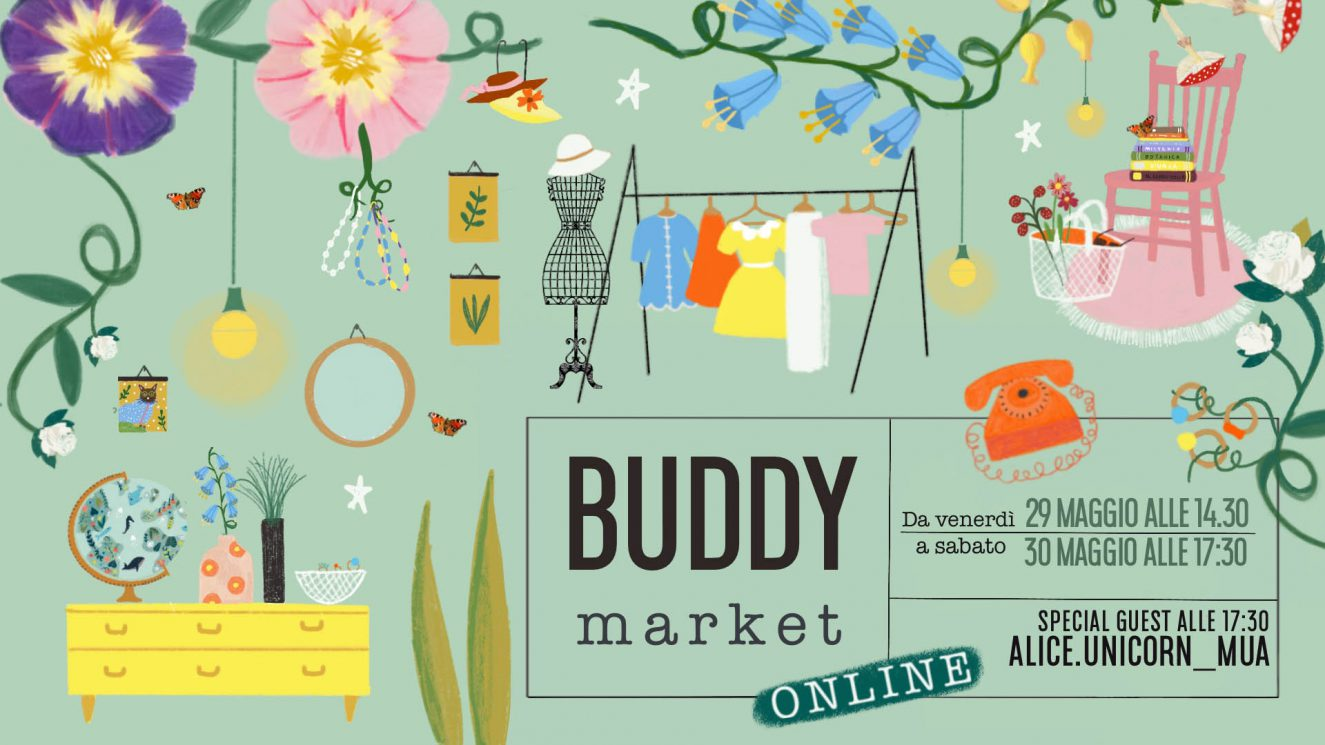 locandina buddy market