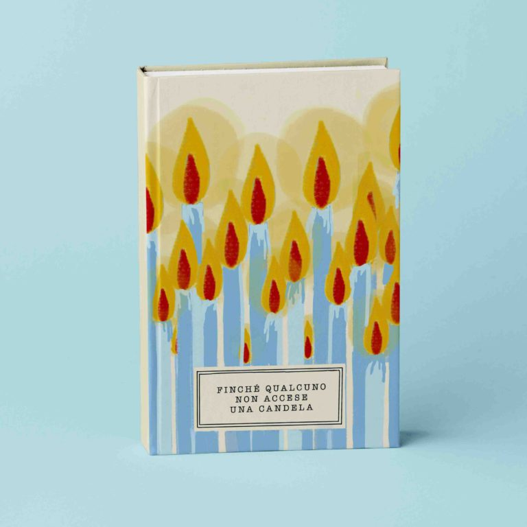 copertina candele libro