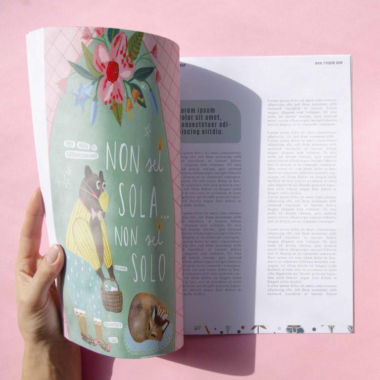 editoriale illustrazione