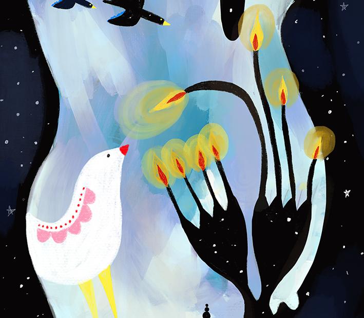 Illustrazione per Fabledefleur