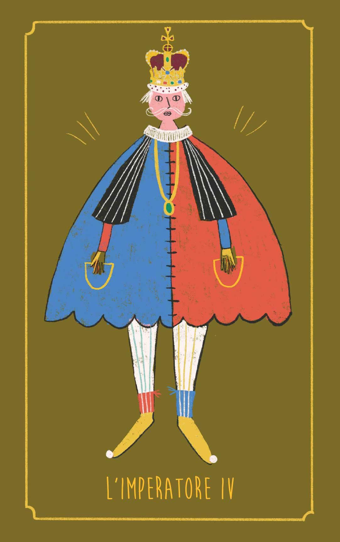 L'Imperatore – Tarocchi personalizzati per Fioricuoriveleno