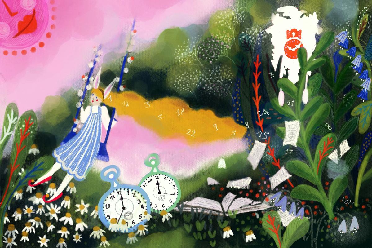 Procrastinazione – Illustrazione per Greenme.it