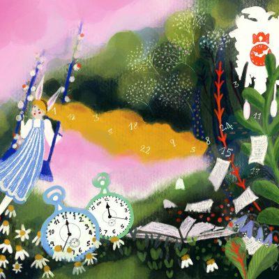 Procrastinazione, Illustrazione per Greenme.it